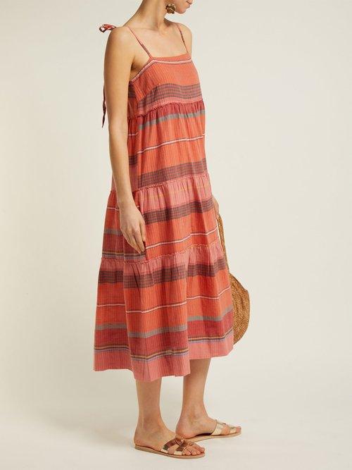 Striped Cotton Dress by Belize