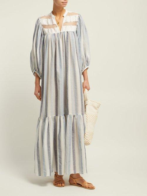 Light My Fire Cotton Dress by Love Binetti