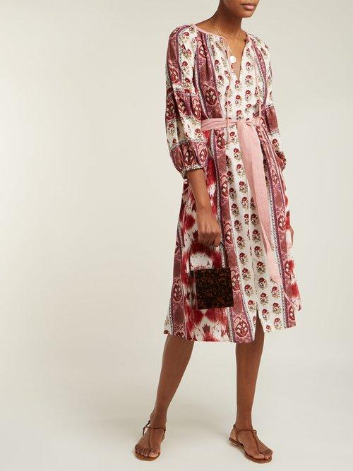 Creole Cotton Midi Dress by D'Ascoli