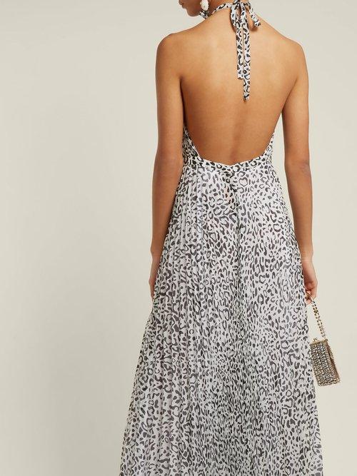 Giovanna Leopard Print Dress by Raquel Diniz