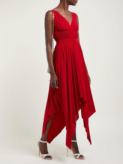 Goddess Handkerchief Hem Dress by Norma Kamali