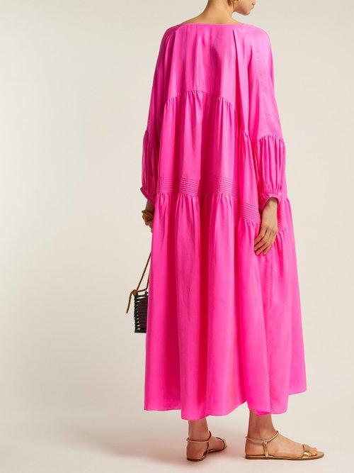 Airi Gypsy Silk Dress by Anaak