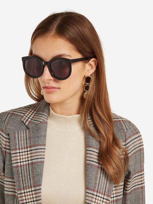 32483029b078 Karen Walker Eyewear Super Duper Strength acetate sunglasses. outfit 1010900