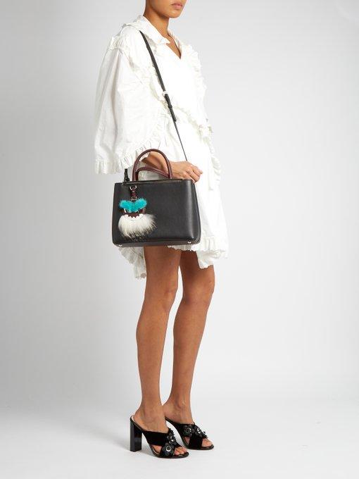 Fendi 2jours Handbag Leather Petite CmzvR4QsCk