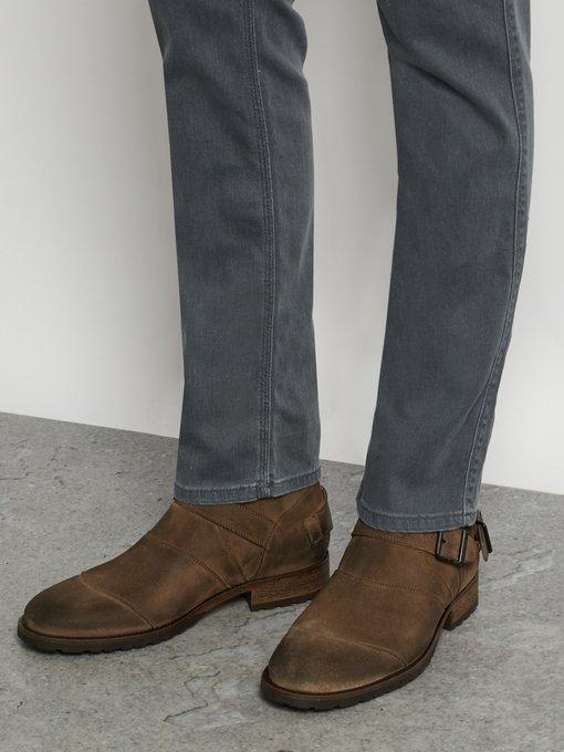 Trialmaster suede boots   Belstaff