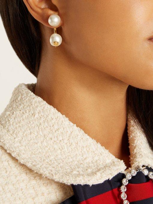 Gucci Pearl-effect single earring hW06Zgy