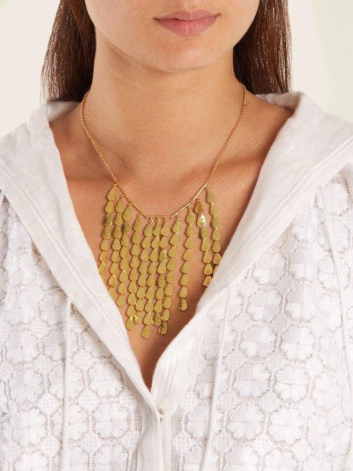 Sophia Kokosalaki Hailstorm gold-plated necklace 10em5Q
