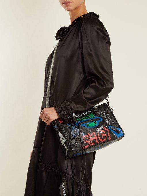 Balenciaga Classic City S bag graffiti. outfit 1179370 d895eb3e77991