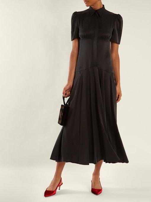 ed08c644bb ... sandwashed-silk midi dress. outfit 1186167