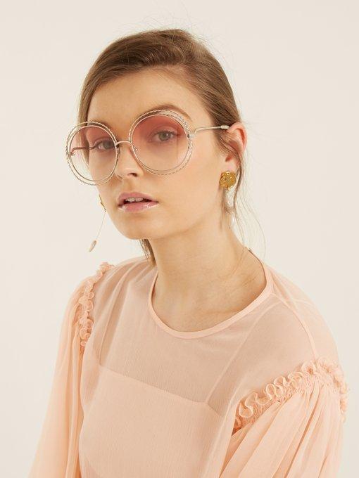 69f0b16c000 Matches Fashion Chloe Sunglasses