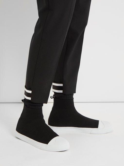 High-top sock trainers   Neil Barrett