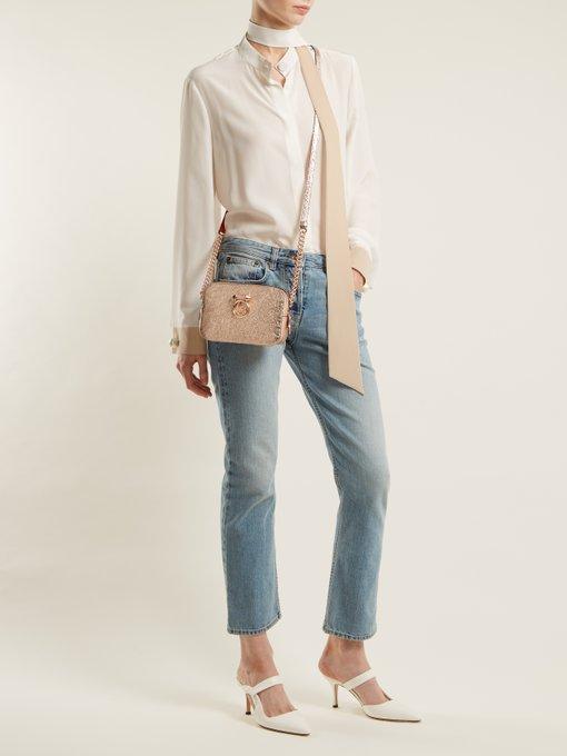 7995d02861b Rubylou leather cross-body bag | Christian Louboutin ...