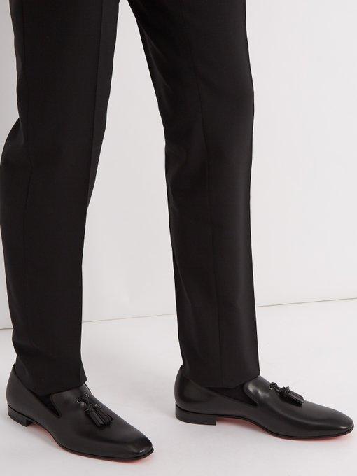4764204eee3 Christian Louboutin Dandelion tassel-embellished leather loafer.  outfit 1198400