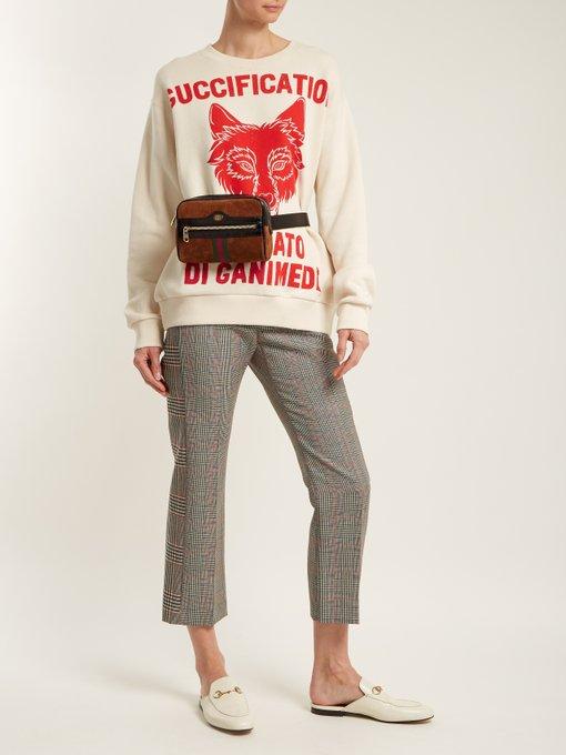 3f2452e0dcd9 Ophidia GG suede belt bag | Gucci | MATCHESFASHION.COM AU