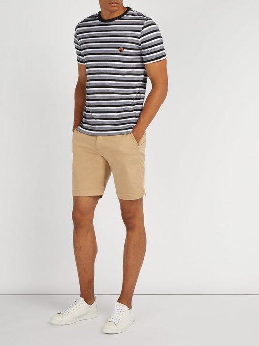 MISSONI Cottons Striped cotton T-shirt