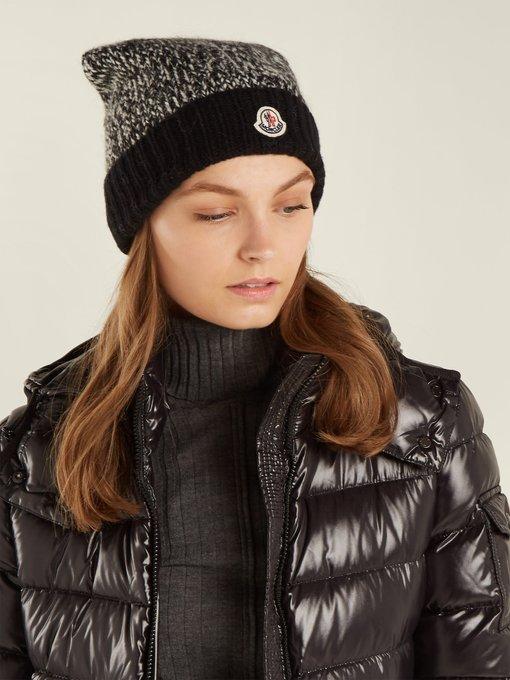 787eda5e6 Pompom wool beanie hat   Moncler   MATCHESFASHION.COM UK