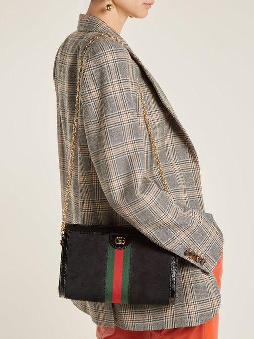 1b3155afdb91 Ophidia small suede shoulder bag | Gucci | MATCHESFASHION.COM FR