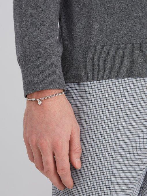 Mael curb-chain bracelet A.P.C. VVk7Vb