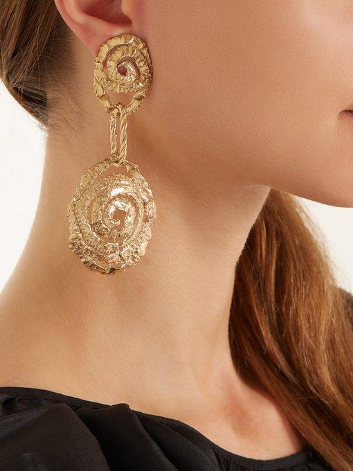 Orit Elhanati Four gold-plated single earring 5EdnP7S91