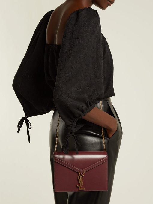 2b701007b540 Saint Laurent Cassandre leather shoulder bag. outfit 1218437