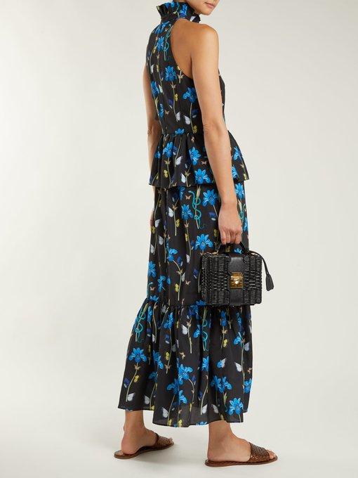 Huge Surprise Jasmine crepe maxi dress Borgo De Nor Offer Sale Many Kinds Of Sneakernews Cheap Online 100% Original Cheap Online 9ERS3bP