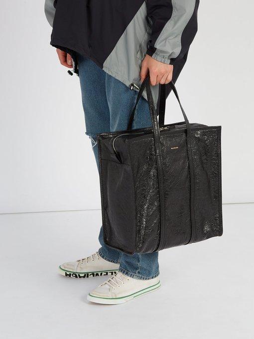Bazar shopper M leather bag