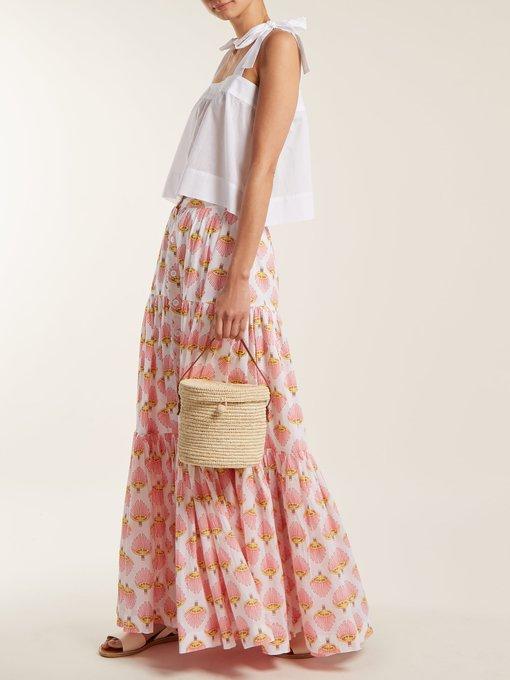 d002c2cc5c301 Wiggy Kit Bow-detail cotton cami top. outfit 1236375