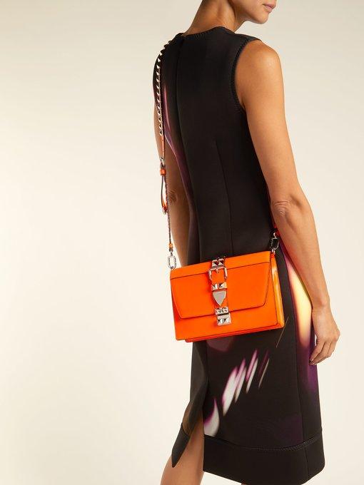 5e4e55576dc4 Prada Elektra leather cross-body bag. outfit 1237950