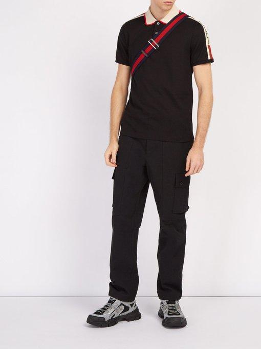 bb9158b58 Ribbon logo polo shirt | Gucci | MATCHESFASHION.COM UK