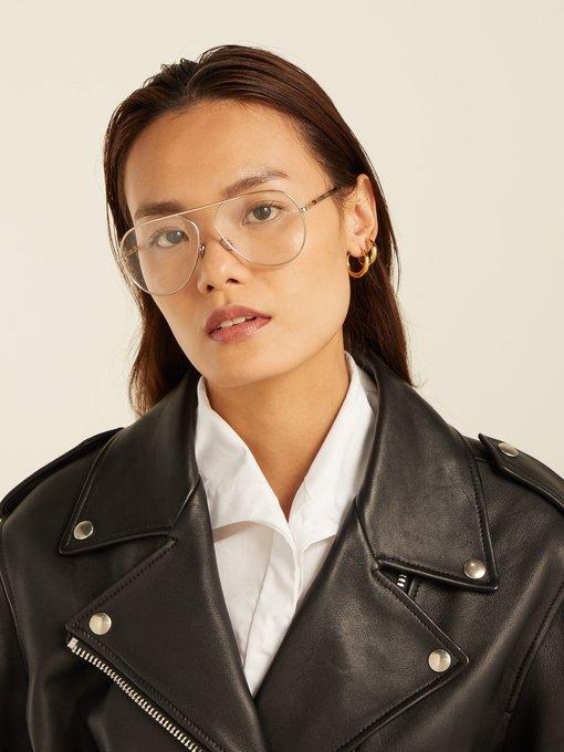 2642239908 Dior Eyewear Dioressence 15 aviator metal glasses. outfit 1240721
