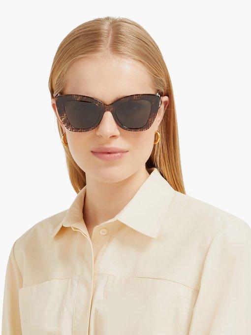 4edc69b5616b3 Fendi FF acetate cat-eye sunglasses. outfit 1240733