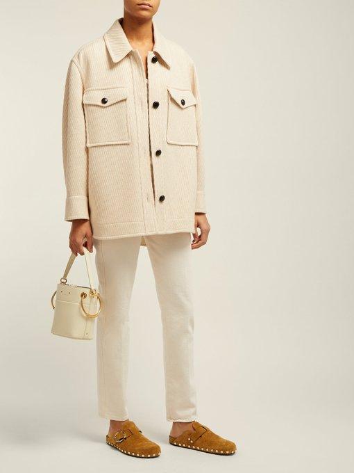 manteau en laine oversize garvey