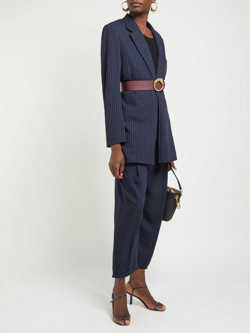 d994d8c3b5d Chloé Monogram horse-buckle leather belt. outfit 1244199