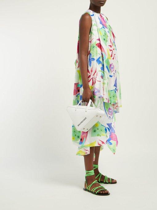 a8985b641 Logo-laced wrap-around flat sandals | Balenciaga | MATCHESFASHION.COM US