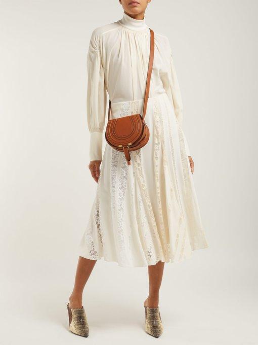 d375ea9190 Chloé Marcie mini leather cross-body bag. outfit 1244850