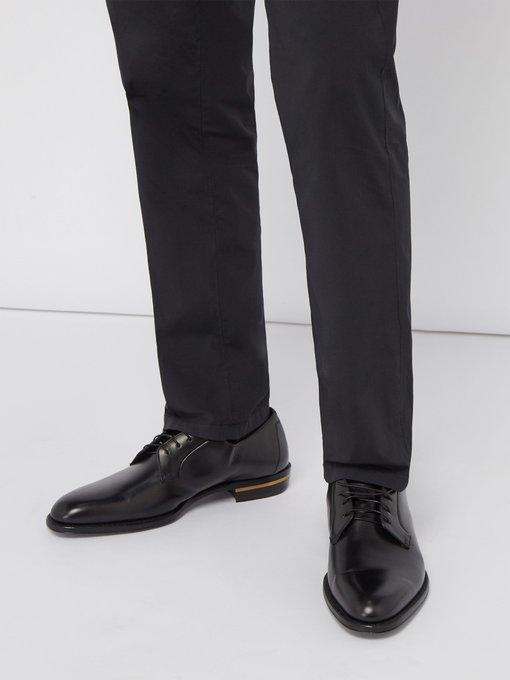 6961dad0e259 Duke leather derby shoes   Dunhill   MATCHESFASHION.COM UK