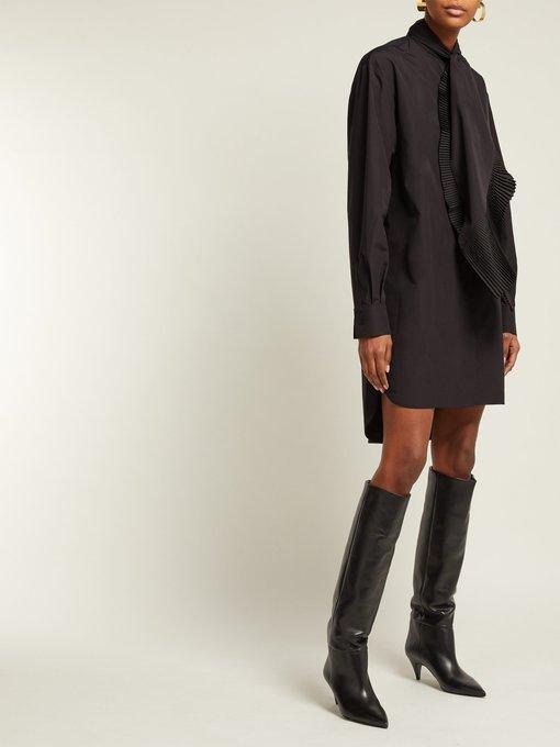 Charlotte 55 leather knee boots   Saint