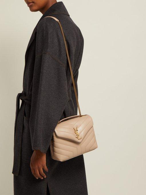 251bd2cf02c Saint Laurent Loulou medium leather shoulder bag. outfit 1252551