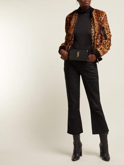 Saint Laurent Kate leather belt bag. outfit 1252590 6062b73cd39d5