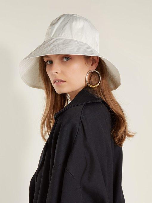 57cf3715c7d Reinhard Plank Hats Paz wide-brim bucket hat. outfit 1252756