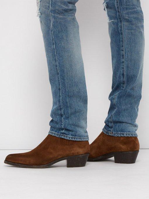 74c1cc8433d Dakota suede chelsea boots | Saint Laurent | MATCHESFASHION.COM AU