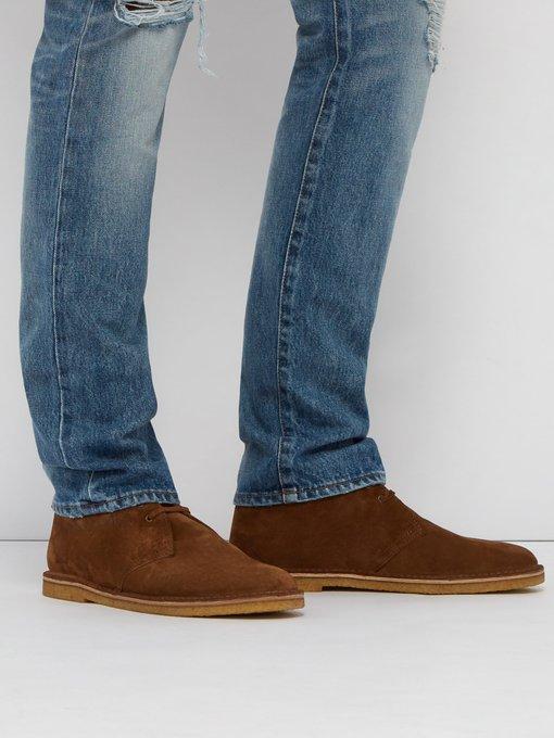 Nino suede desert boots   Saint Laurent