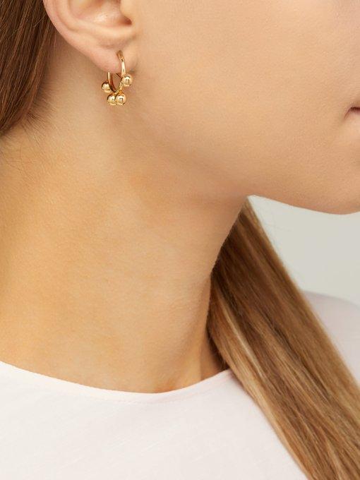 f0ea39fb822f76 Disc mini hoop earrings | JW Anderson | MATCHESFASHION.COM US