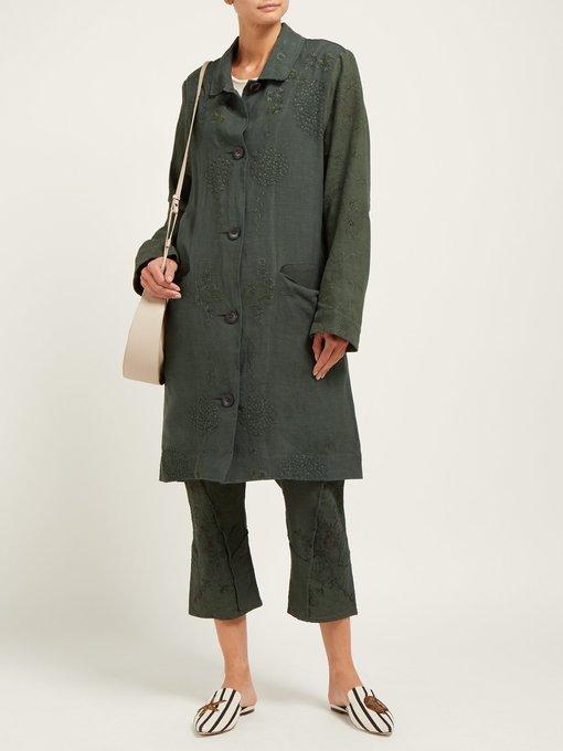 design intemporel e6c74 455ab Manteau en lin des années 20 Cedric | By Walid ...