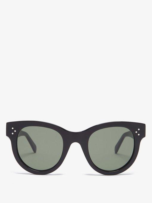 76807a0a8b Céline Eyewear Baby Audrey cat-eye acetate sunglasses. outfit 1269566