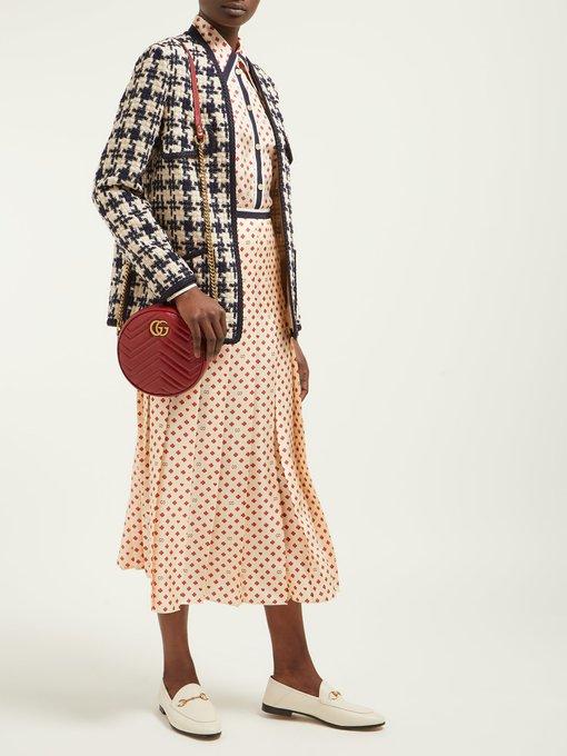 a4e4fddf6edda0 Houndstooth tweed jacket | Gucci | MATCHESFASHION.COM JP