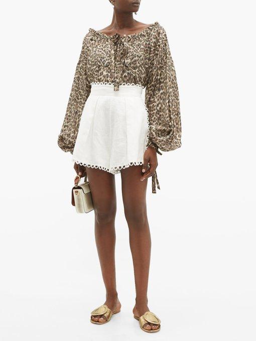 cb9ad6df0a2020 Suraya leopard-print silk blouse   Zimmermann   MATCHESFASHION.COM UK
