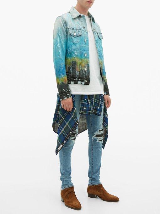 554d12d2 City Dragon denim jacket | Amiri | MATCHESFASHION.COM US