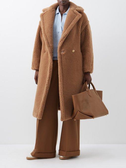 teddy coat max mara