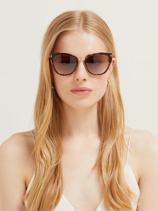 85b46f55f Tom Ford Eyewear Simona cat-eye acetate sunglasses. outfit_1288314